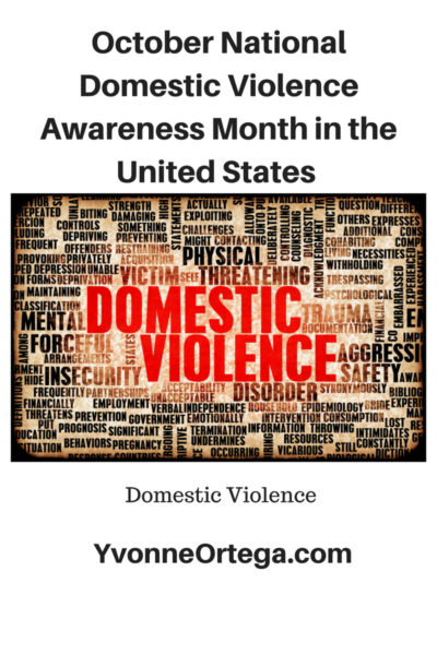 October National Domestic Violence Awareness Month in the United States