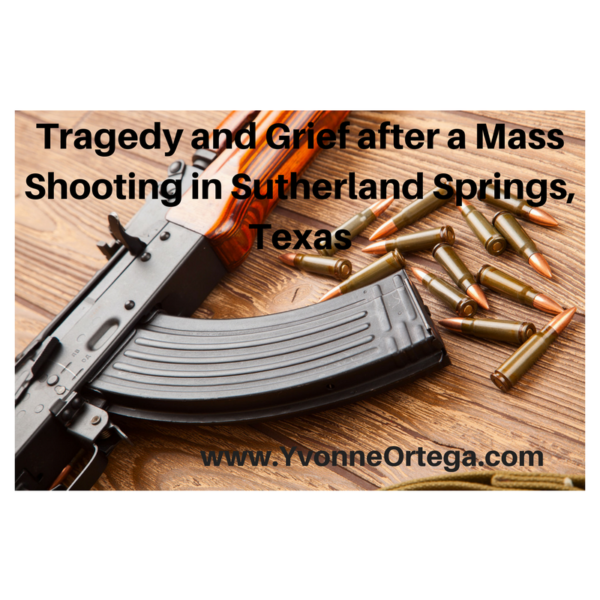 Tragedy and Grief After a Mass Shooting in Sutherland Springs, Texas
