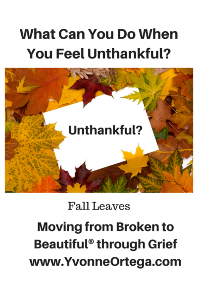 What Can You Do When You Feel Unthankful?